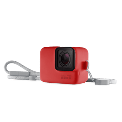 GOPRO SLEEVE + LANYARD (RED) ACSST-012