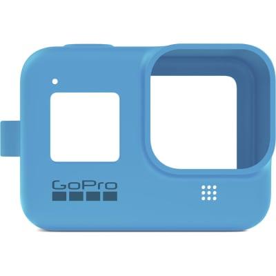GOPRO SLEEVE + LANYARD (HERO8 BLACK) (BLUE) AJSST-003