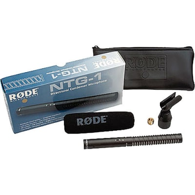 RODE NTG1 SHOTGUN MICROPHONE