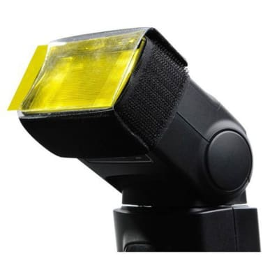 GODOX FLASH SPEEDLITE ACCESSORY ACCESSORIES KIT - HONEY COMB, REFLECTOR, SOFTBOX, COLOR FILTER, SNOOT & SPEEDLITE HOLDER SA K6