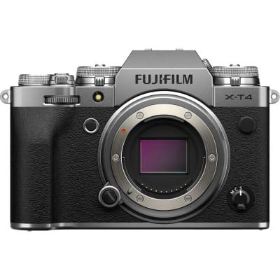 FUJIFILM X-T4 BODY ONLY MIRRORLESS DIGITAL CAMERA (SILVER)