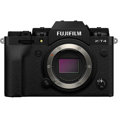 FUJIFILM X T4 BODY ONLY MIRRORLESS DIGITAL CAMERA (BLACK)