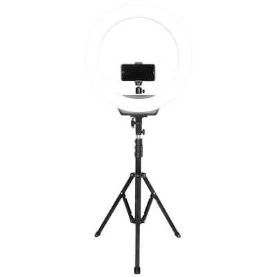 DIGITEK 19 INCHES LED RING LIGHT WITH STAND FOR CAMERA AND SMARTPHONE ( DRL 019 H )