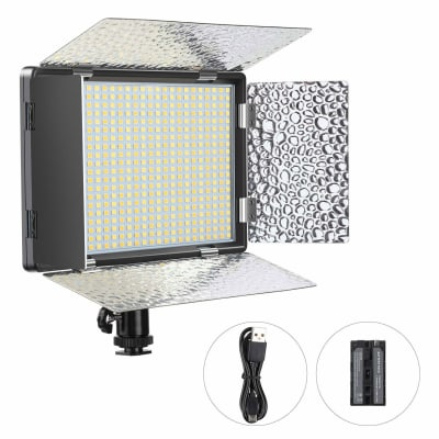 DIGITEK LED PROFESSIONAL VIDEO LIGHT & NP-750 LI-ION BATTERY WITH MICRO USB CHARGING (LED D520B COMBO)