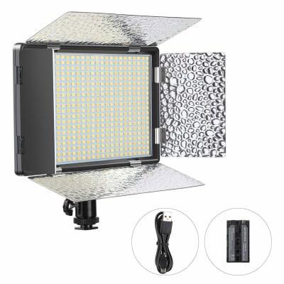 DIGITEK D520B COMBO LED PROFESSIONAL VIDEO LIGHT & NP-750 LI-ION BATTERY WITH MICRO USB CHARGING