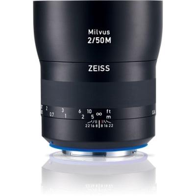 ZEISS MILVUS 50MM F/2 FOR CANON EF MOUNT