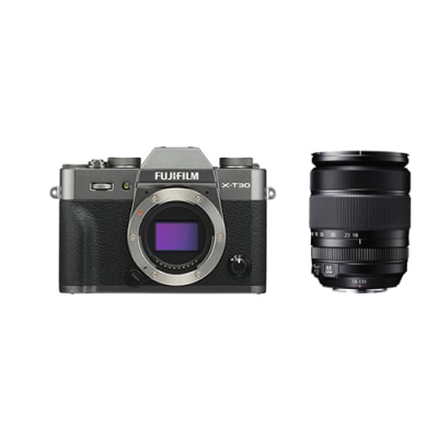 FUJI X-T30 WITH 18-135MM KIT EE C CHARCOAL
