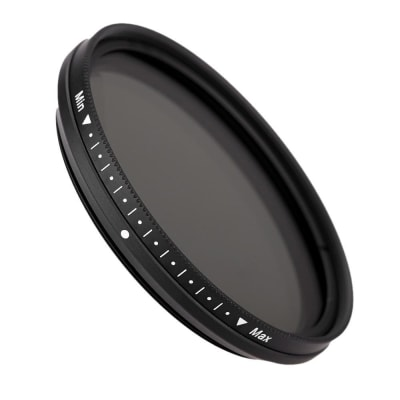 VBLITZ 49MM FADER VARIABLE ND FILTER ADJUSTABLE ND2 TO ND400 NEUTRAL DENSITY