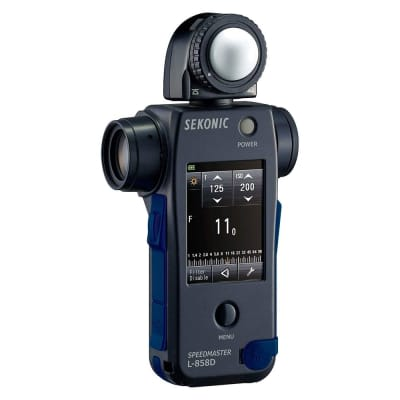 SEKONIC L-858D SPEED MASTER CE/CANADA IC VERSION