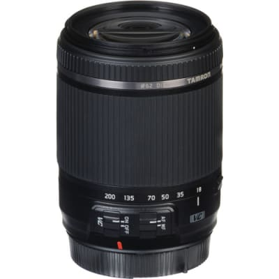 TAMRON 18-200MM F/3.5-6.3 DIII VC FOR CANON