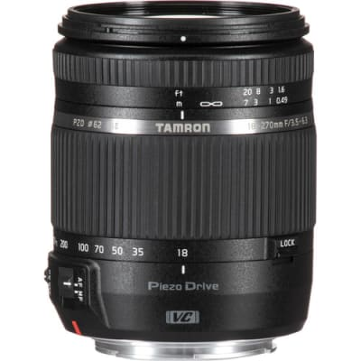 TAMRON 18-270MM F/3.5-6.3 DIII VC PZD FOR CANON