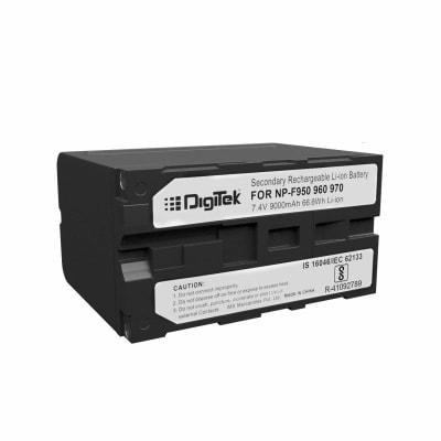DIGITEK NP F960 / NP F970 BATTERY FOR SONY CAMERAS