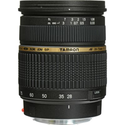 TAMRON SP AF 28-75MM F/2.8 XR DI FOR SONY A-MOUNT