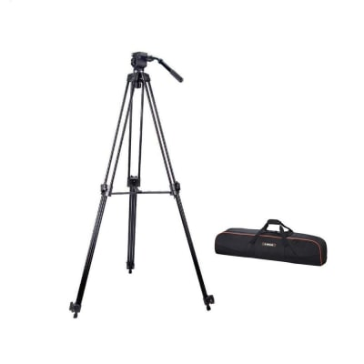 E-IMAGE 7020 7FT PROFESSIONAL TRIPOD KIT WITH FLUID HEAD