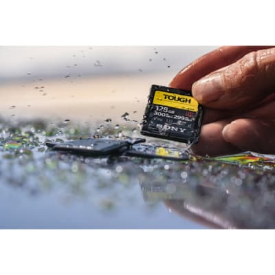 SONY 128 GB TOUGH HIGH SPEED SDXC UHS-II G300 SD CARD
