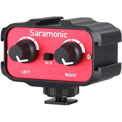 SARAMONIC SR-AX100 (AUDIO MIXER FOR DSLR OR CAMCORDERS)