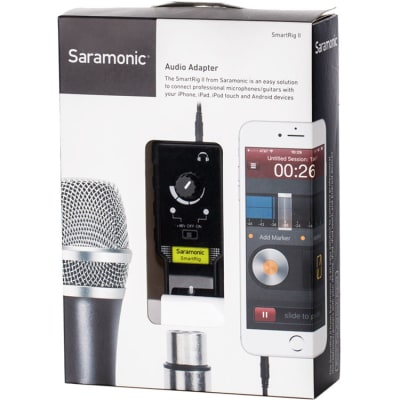 SARAMONIC SMARTRIG II [SMARTPHONE AUDIO (FOR IOS AND ANDROID)]