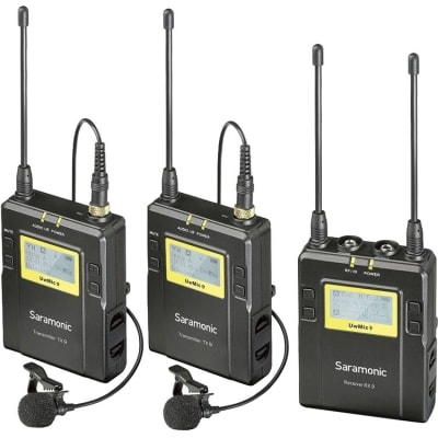 SARAMONIC UWMIC9 TX9+TX9+ RX9 (UHF WIRELESS MICROPHONE SYSTEM)
