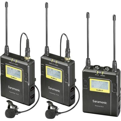 SARAMONIC UWMIC9 TX9+TX9+ RX9 (UHF WIRELESS MICROPHONE SYSTEM)