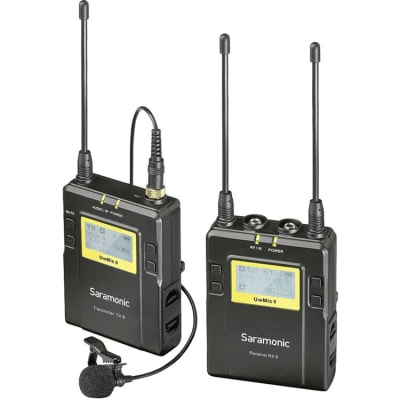 SARAMONIC UWMIC9 TX9+RX9 (UHF WIRELESS MICROPHONE SYSTEM)