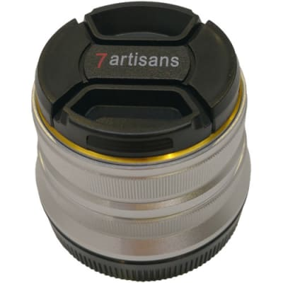 7 ARTISANS 25MM F1.8 SONY FOR CANON EOS-M-MOUNT / APS-C SILVER