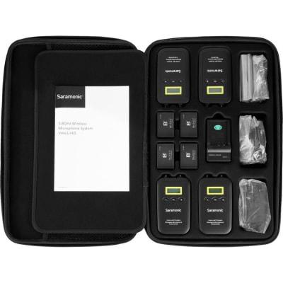SARAMONIC VMICLINK5 3TX+RX (5.8GHZ DIGITAL WIRELESS MICROPHONE SYSTEM)