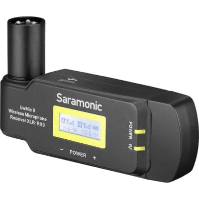 SARAMONIC UWMIC9 RX-XLR9 (UHF WIRELESS MICROPHONE SYSTEM)