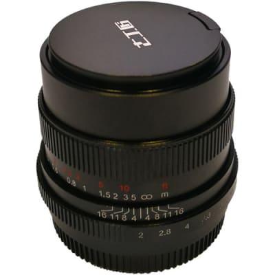7 ARTISANS 35MM F2.0 FOR FUJI FX-MOUNT BLACK / FULL FRAME
