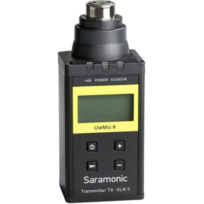 SARAMONIC UWMIC9 TX-XLR9 V2 (UHF WIRELESS MICROPHONE SYSTEM)
