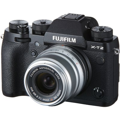 FUJI XF 23MM F/2.0 LENS SILVER