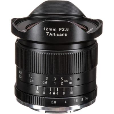 7 ARTISANS 12MM F2.8 FOR FUJI FX-MOUNT / APS-C BLACK