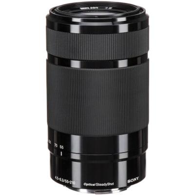 SONY 55-210MM F4.5-6.3 OSS SEL55210 BLACK