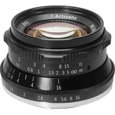 7 ARTISANS 35MM F1.2 FOR CANON EOS-M MOUNT BLACK