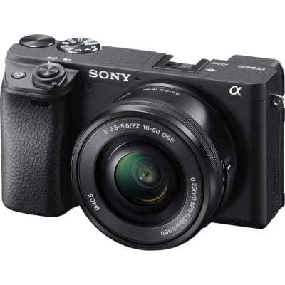 SONY A6400 WITH 16-50MM VLOGGER STARTER KIT