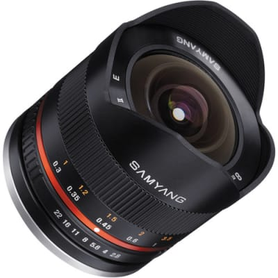 SAMYANG 8MM F/2.8 II BLACK FOR CANON EOS M