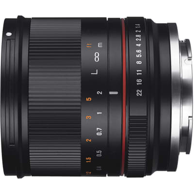 SAMYANG 21MM F/1.4 BLACK FOR CANON EOS M