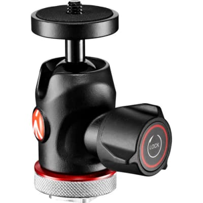 MANFROTTO MH492LCD-BH MICRO BALL HEAD W/COLD SHOE