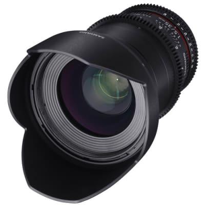 SAMYANG BRAND PHOTOGRAPHY MF LENS 35MM T1.5 VDSLR II CANON