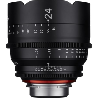SAMYANG XEEN 24MM T1.5 PROFESSIONAL CINEMA LENS FOR SONY E MOUNT
