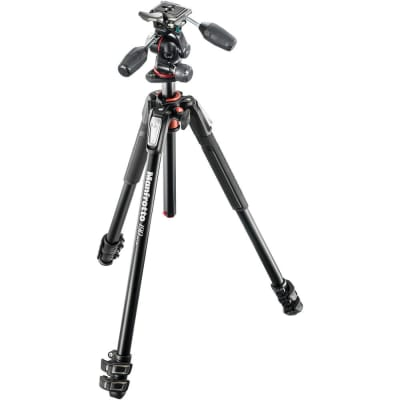 MANFROTTO MK190XPRO3-3W 190 ALU 3 SECTION KIT 3W HEAD