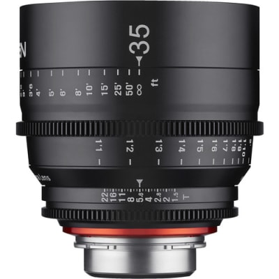 SAMYANG XEEN 35MM T1.5 PROFESSIONAL CINEMA LENS FOR CANON EF MOUNT