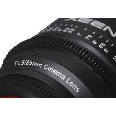 SAMYANG XEEN 85MM T1.5 PROFESSIONAL CINEMA LENS, PL MOUNT