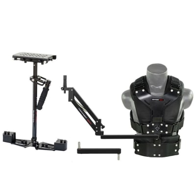 FLYCAM HD-5000 CAMERA STEADYCAM SYSTEM WITH COMFORT ARM AND VEST (CMFT-HD5)