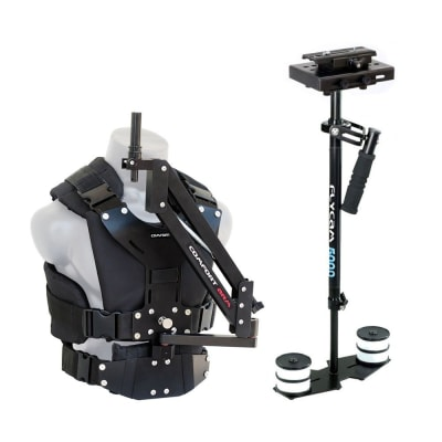 FLYCAM 5000 CAMERA STEADYCAM SYSTEM WITH COMFORT ARM AND VEST (FLCM-CMFT-KIT)