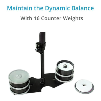 FLYCAM DSLR NANO HANDHELD STEADYCAM WITH COMPLIMENTARY- QUICK RELEASE ADAPTER PLATE (DSLR-NANO-QR)