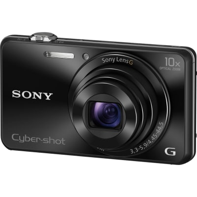 SONY WX220 BLACK CYBER SHOT (DSC WX220) DIGITAL CAMERA