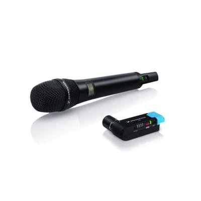 SENNHEISER PROFESSIONAL AUDIO AVX-835 SET. DIGITAL WIRELESS MICROPHONE HANDHELD SET