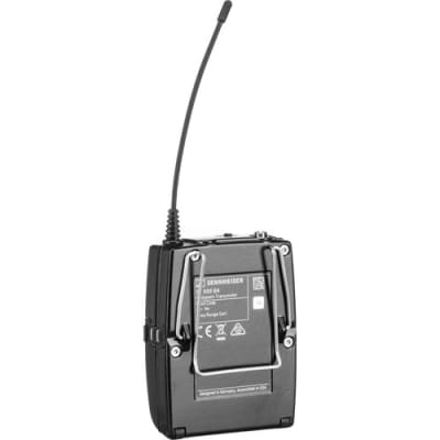 SENNHEISER EW 512P G4 CAMERA-MOUNT WIRELESS OMNI LAVALIER MICROPHONE SYSTEM