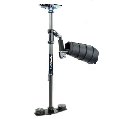 FLYCAM C5 - CARBON FIBER STABILIZER WITH ARM BRACE (FLCM-CFC5-AB)