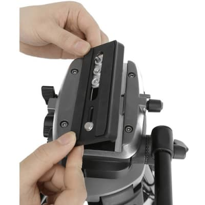 E-IMAGE EK630 PROFESSIONAL TRIPOD STAND KIT WITH FLUID HEAD